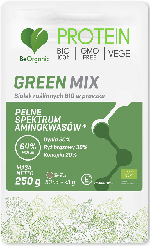 VEGETABLE PROTEIN GREEN MIX BIO 250 g