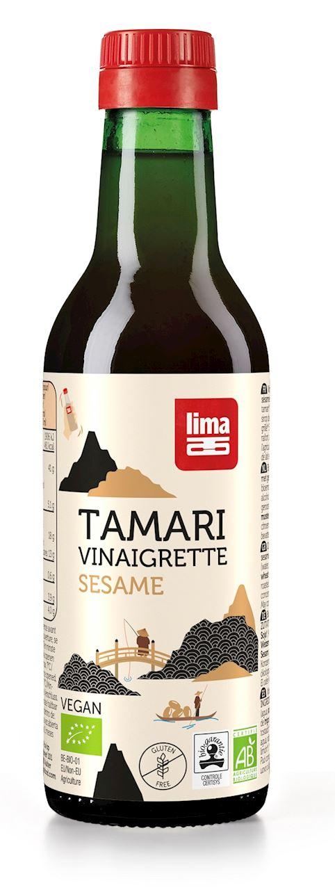 TAMARI SOY SAUCE WITH SESAME BIO 250 ml