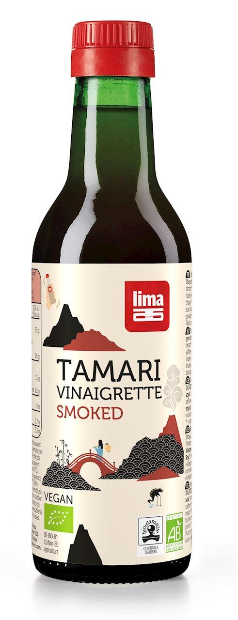 TAMARI SOY SAUCE WITH SMOKED SHOYU BIO 250 ml
