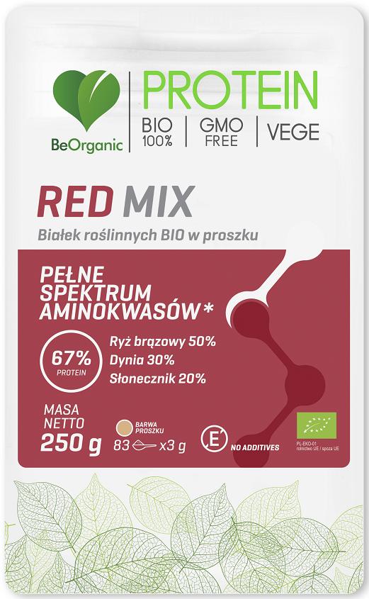 VEGETABLE PROTEIN RED MIX BIO 250 g