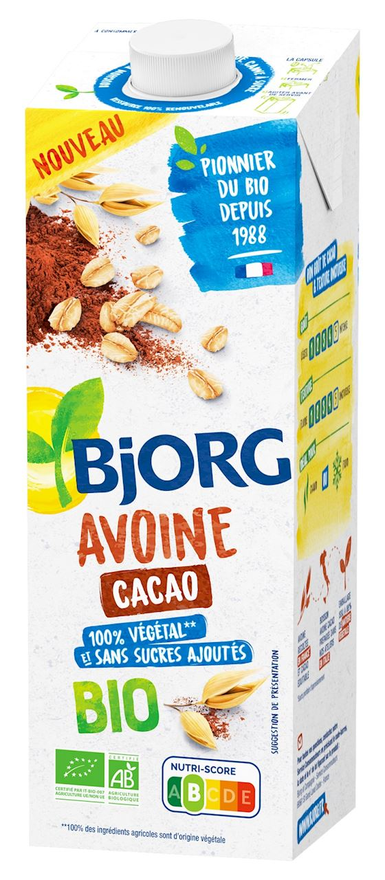 OAT DRINK WITH COCOA BIO 1 L