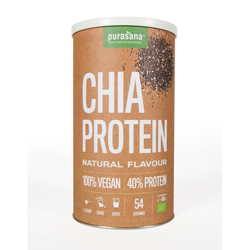 CHIA PROTEIN WITH NATURAL FLAVOR BIO 400 g