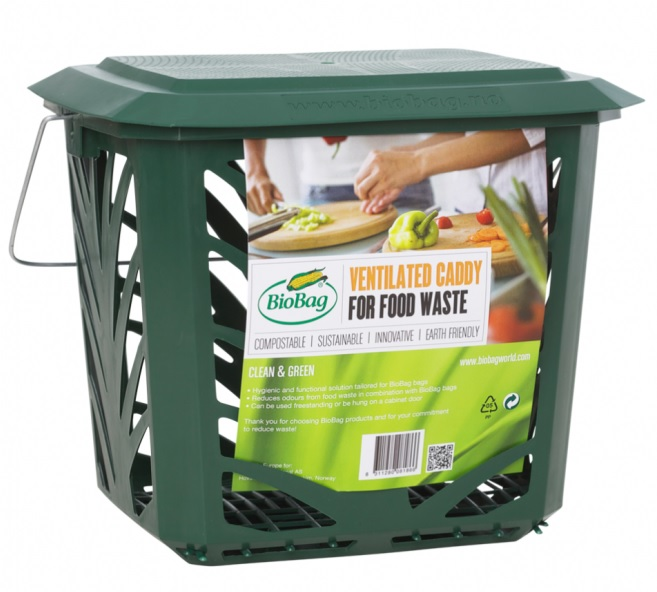 VENTILATE CADDY FOR FOOD WASTE