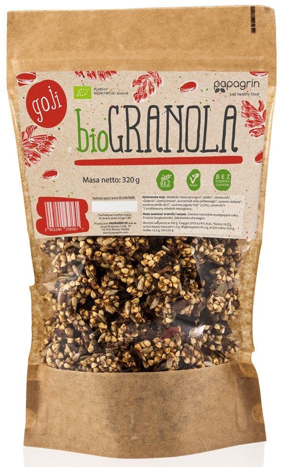 GRANOLA with goji berries BIO 320 g