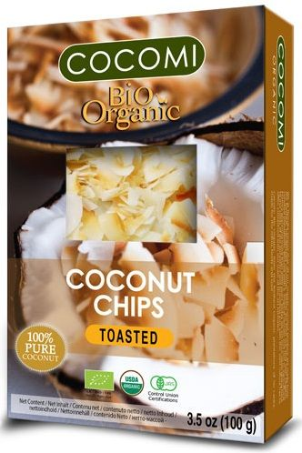 ROASTED COCONUT CHIPS BIO 100 g