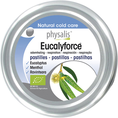 EUCALYFORCE PASTILLES FOR COLD TREATMENT BIO 45 g