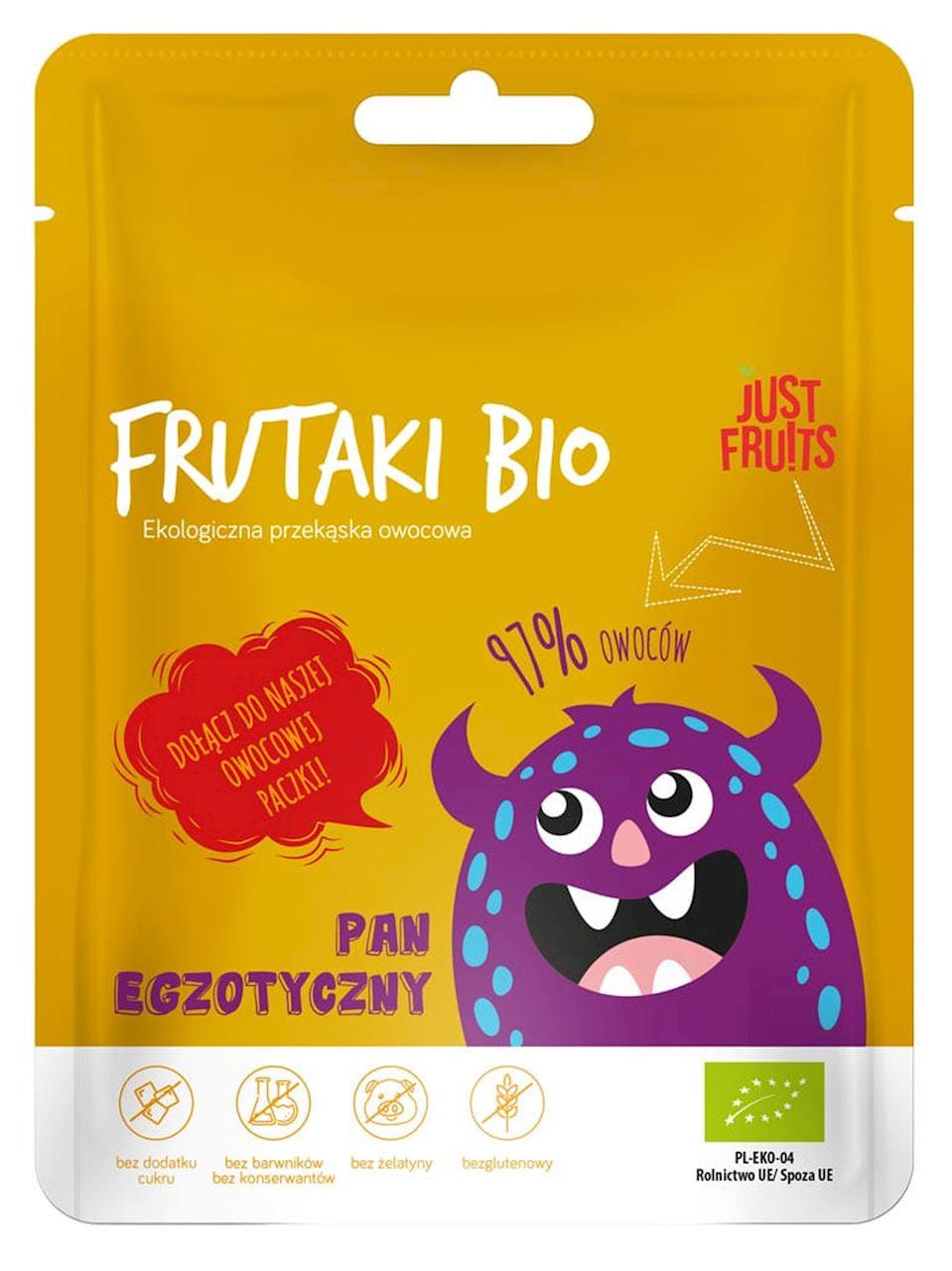 FRUIT JELLIES Mr EXOTIC BIO 50 g