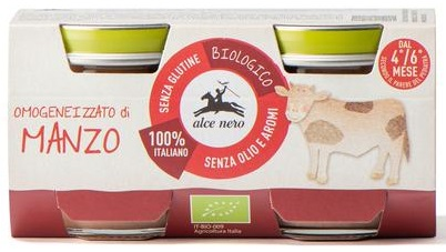 BEEF PUREE FOR BABIES 2 x 80 g