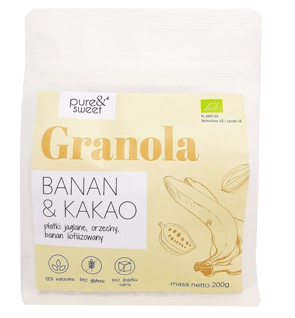 MAHE BANAANI JA KAKAO GRANOLA 200 g