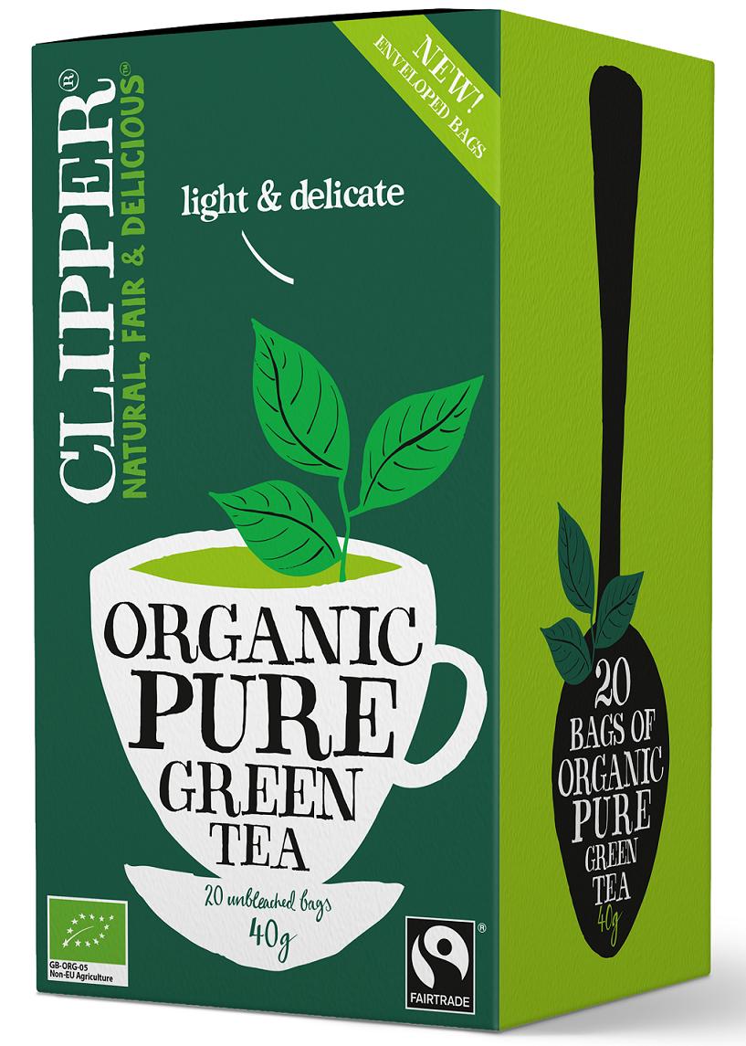 GREEN TEA BIO 20 x 2 g