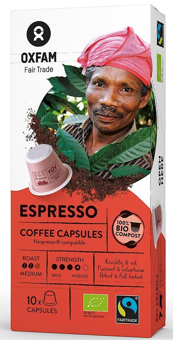 ESPRESSO COFFEE CAPSULES BIO 10 pcs