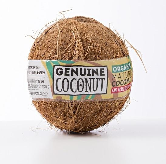 FRESH RIPE COCONUT BIO ca 500 g