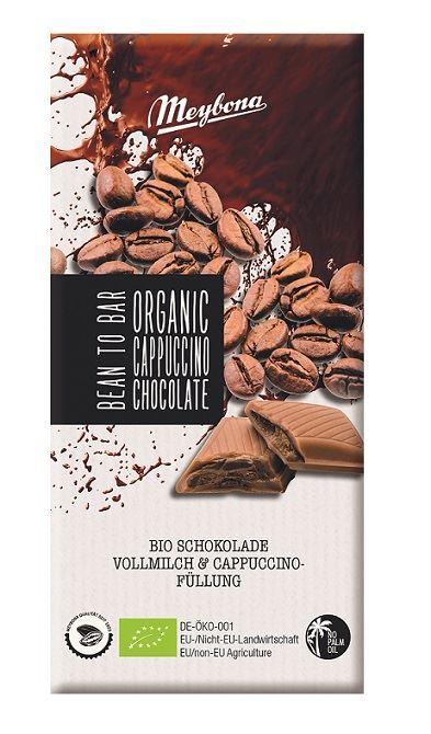 MILK CHOCOLATE WITH CAPPUCCINO FILLING BIO 100 g