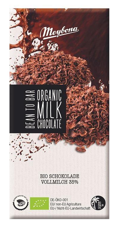 MILK CHOCOLATE BIO 100 g